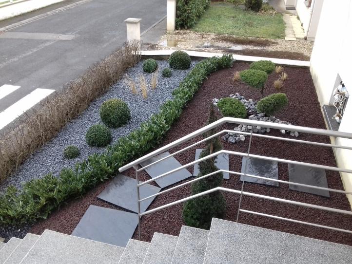 Aménagement d'espaces verts : finalisation des travaux