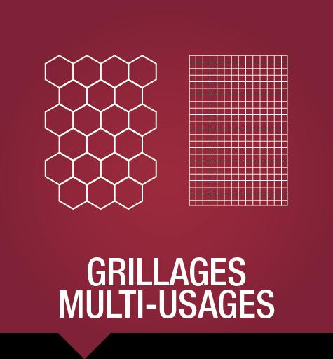 Clôtures et portails - Grillages multiusages