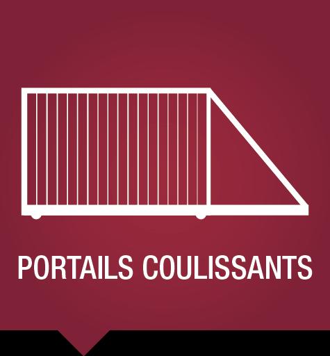 Clôtures et portails - Portails coulissants