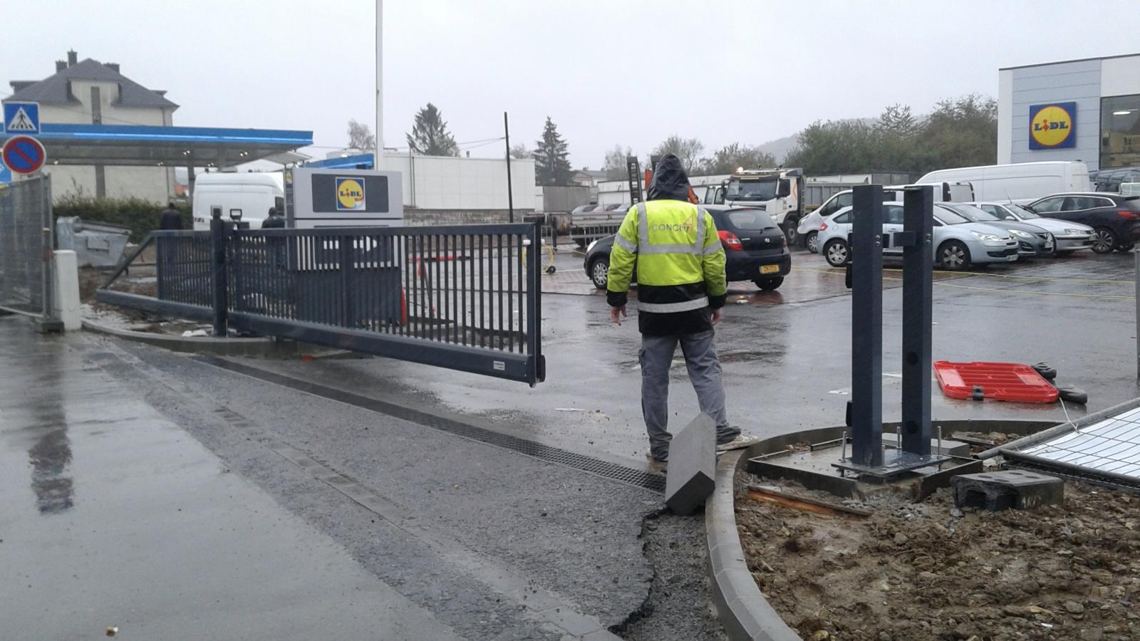 Installation Portails - clôtures : Portails coulissant