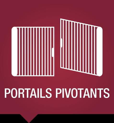 Clôtures et portails - Portails pivotants