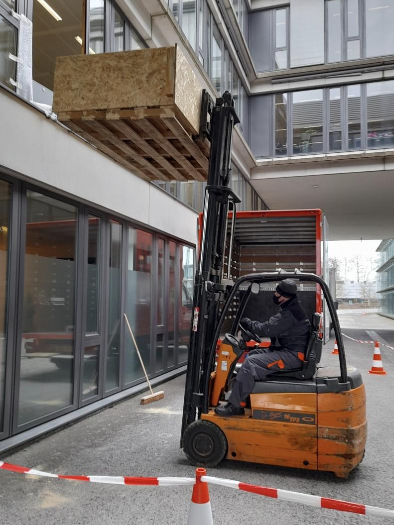 Service de récupération de mobiliers avant travaux